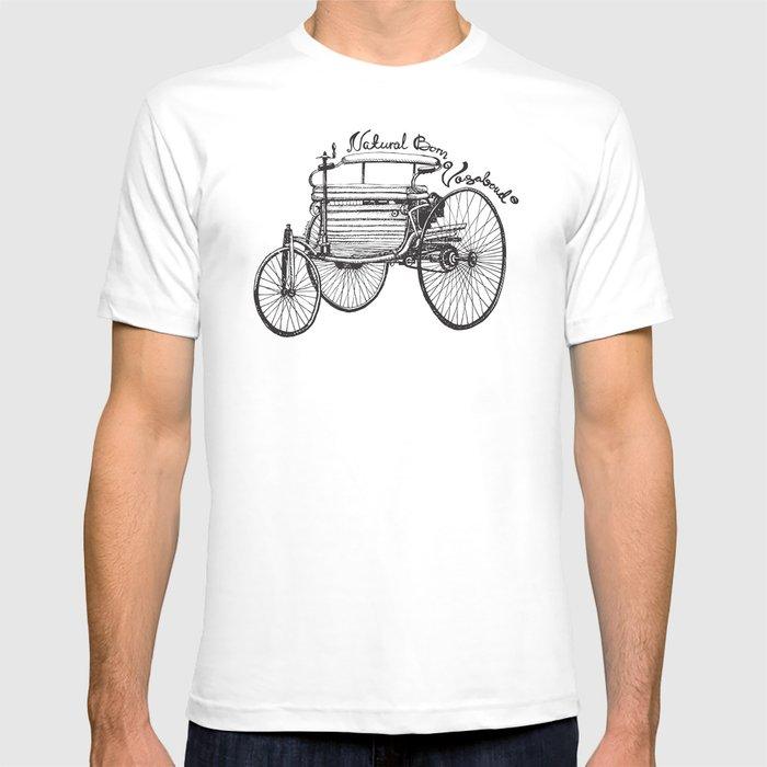 Vintage benz 1885   Natural Born Vagabond™  T-shirt