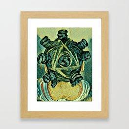 Chiney Bump Framed Art Print