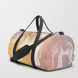 Color Spot Safari Elephant Duffle Bag