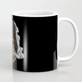Vaping Gorilla Illustration | Monkey Vape Coffee Mug