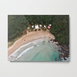 Tropical Summer Beach in The Philippines Metal Print