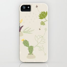 My Potted Cactus Pattern iPhone Case