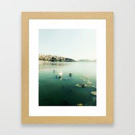 One Lake for Orestes Framed Art Print