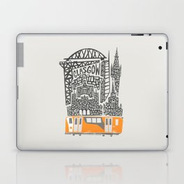 Glasgow Cityscape Laptop & iPad Skin