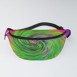 Psychedelic Swirl Fanny Pack