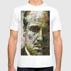 Marlon B. Mens Fitted Tee White MEDIUM