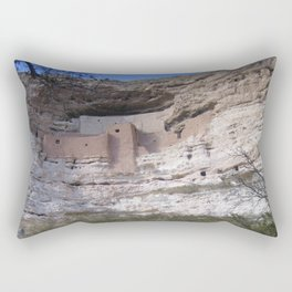 Anasazi Cliff Dwelling Rectangular Pillow