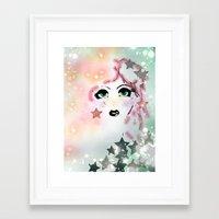 jem Framed Art Prints featuring Jem by Care Thomas