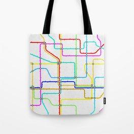 London Tube Underground Tote Bag