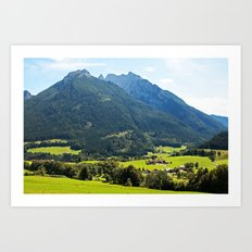 Bavarian Dreams Art Print