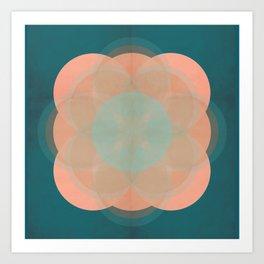 quinque orbis Art Print