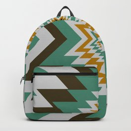Geometric tribal decor Backpack