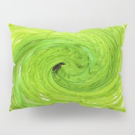 500 - Abstract Fern Design Pillow Sham