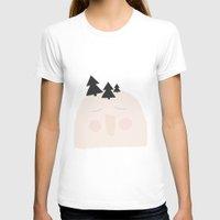 yeti T-shirts featuring Yeti by Srta Malasuerte