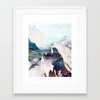 Framed Art Prints featuring Untitled 20131108w (Landscape) by tchmo