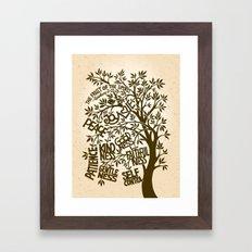 The Fruit of the Spirit (I) Framed Art Print