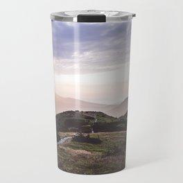 good morning mountains Travel Mug
