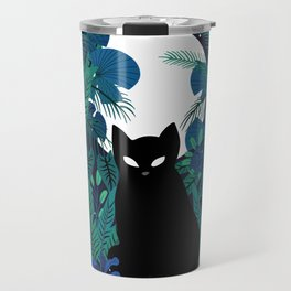 mystical cat Travel Mug