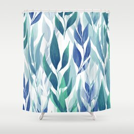 Leafage #02 Shower Curtain
