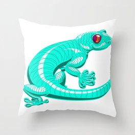Lenny the Lounge Lizard Throw Pillow