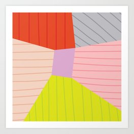 Blok Art Print