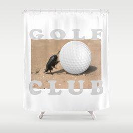 Golf Club Shower Curtain