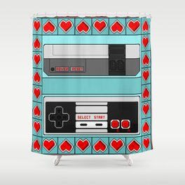 Video Game Lover : NES Shower Curtain