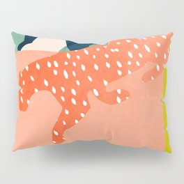 tropical cats Pillow Sham
