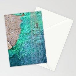 Green Entropy I Stationery Cards
