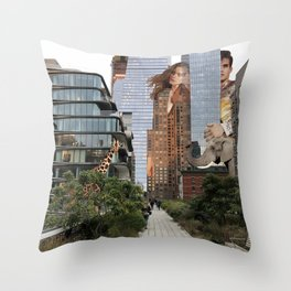 Nature Call Throw Pillow