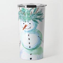 SNOWMAN PARTY ANIMAL Travel Mug