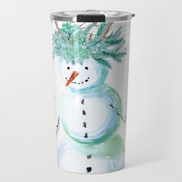 SNOWMAN PARTY ANIMAL Travel Mug