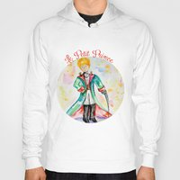 le petit prince Hoodies featuring The little Prince- Le Petit Prince by Colorful Simone