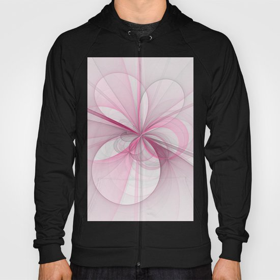 The Birth of Pink, Abstract Fractal Art Hoody
