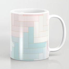 Pastel Chevron Pattern Coffee Mug