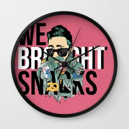 It's Not the Size of the Beard, But How You Use It.  Wall Clock