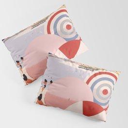 Vintage Brazil Poster Pillow Sham