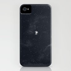 Gravity - Dark Blue Slim Case iPhone (4, 4s)