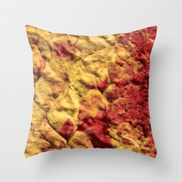 Volcano Spiral Throw Pillow