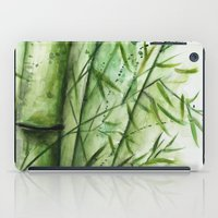 bamboo iPad Cases featuring Bamboo by rchaem