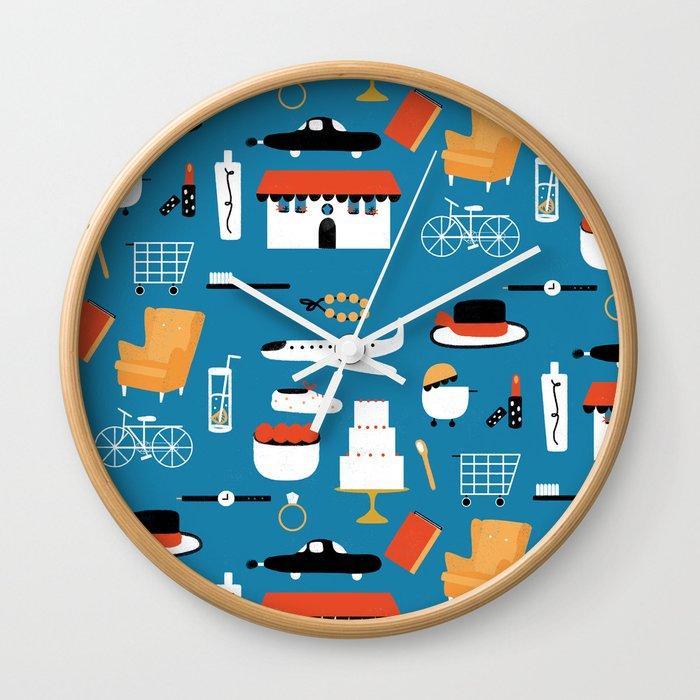 TRAVEL LIFE Wall Clock
