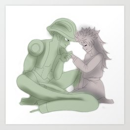 King's Love Art Print