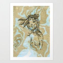 Canaria Art Print