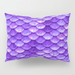 Purple Mermaid Pillow Sham
