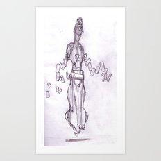 Magic Robot Art Print