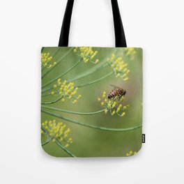 bees and fennel Tote Bag