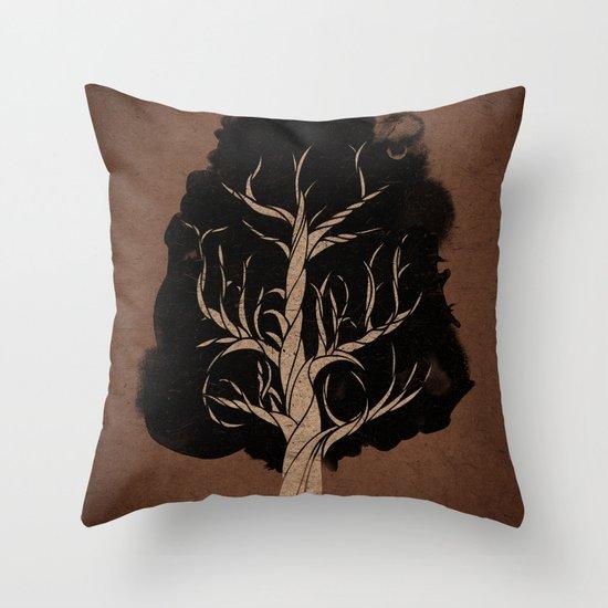 Let The Tree Grow Throw Pillow