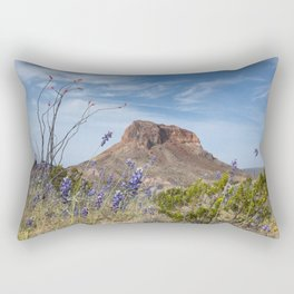 Ocotillo Cactus in the Desert Rectangular Pillow