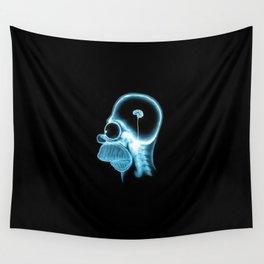 Homer Brain Wall Tapestry