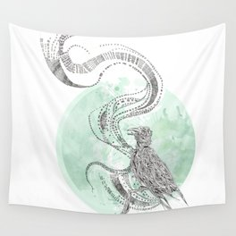Bird Cry Wall Tapestry
